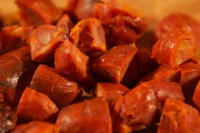 Chopped Chorizo